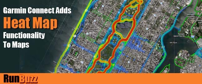 garmin gps heat map for runners