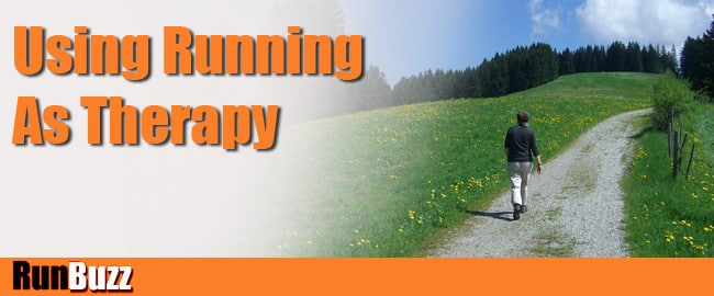 running for depression therapy