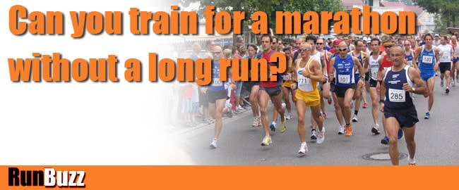 training for marathon with or without long run