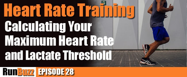 How to estimate maximum heart rate and lactate threshold for heart rate training