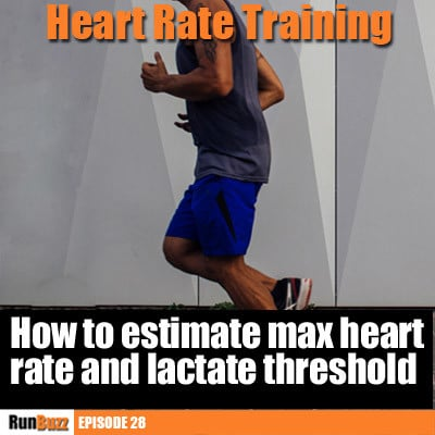 How to estimate maximum heart rate and lactate threshold