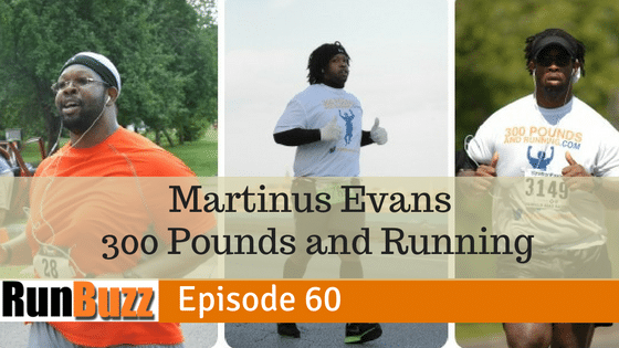 Martinus Evans - 300 pounds and running