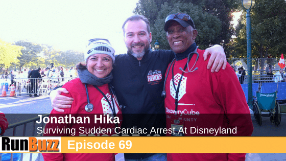 Jonathan Hika - Sudden Cardiac Arrest At Disneyland Super Heroes 10k Interview