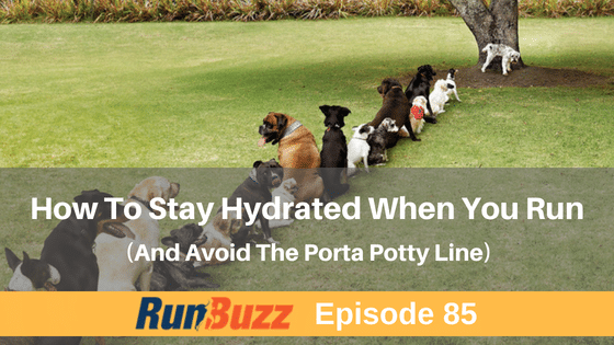 How To Hydrate Properly For Runs and Races