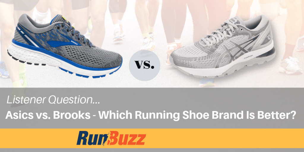 Asics vs. Brooks – Which Shoe Brand Is Best For Running