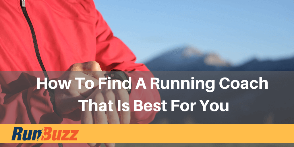 How To Find A Running Coach