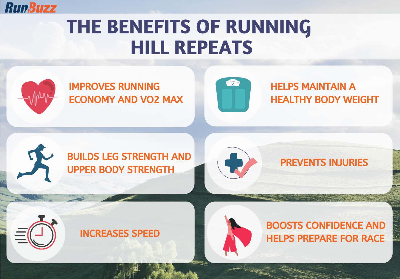 The Benefits Of Running Hill Repeats