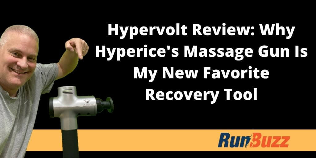 hyperice hypervolt review by runbuzz