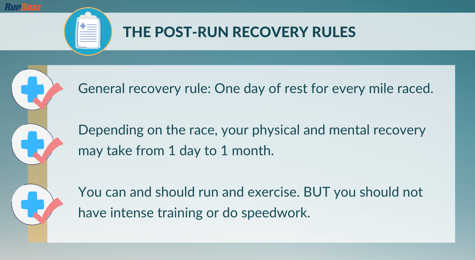 The-Post-Run-Recovery-Rules